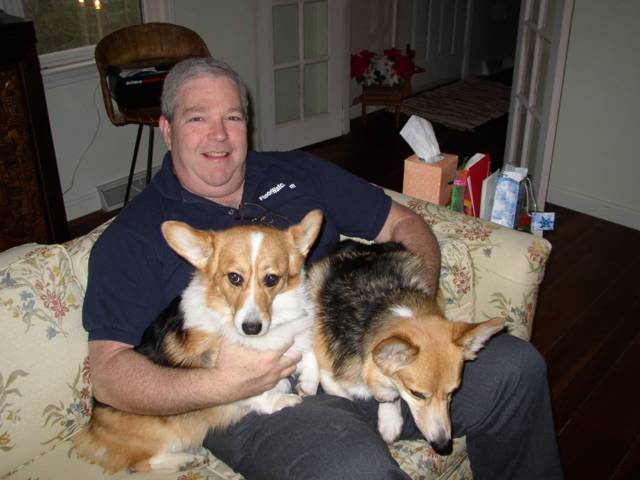 Photo of Dad, Della and Brynnie